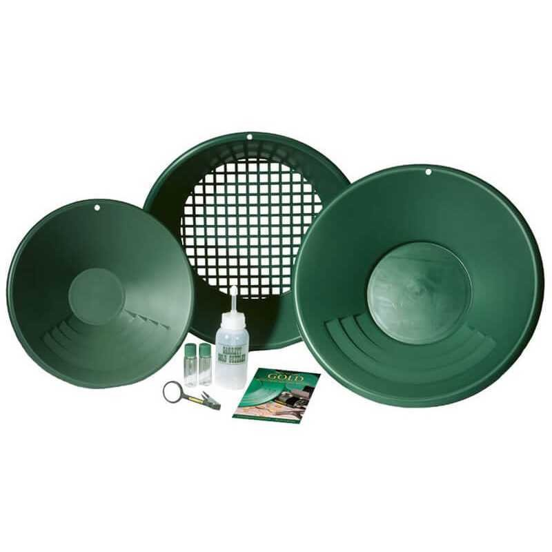 Комплект за промиване на злато Garrett Gold Pan Kit
