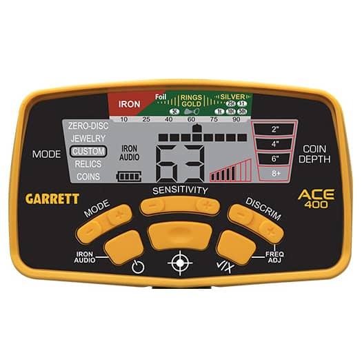 Металотърсач Garrett ACE 400i с антена 33см Ultimate