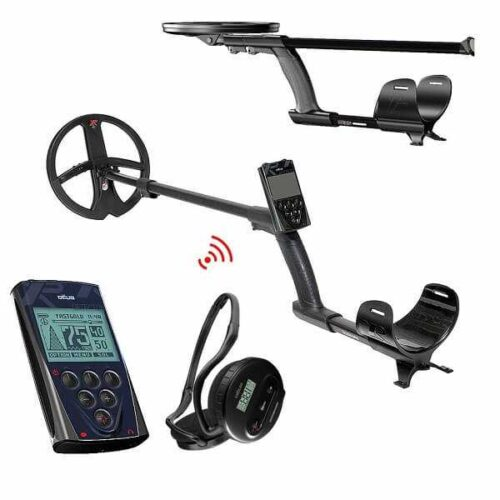 Metaldetector XP DEUS V5 X35 with 22.5cm + Remote + Wireless Headphones WS4
