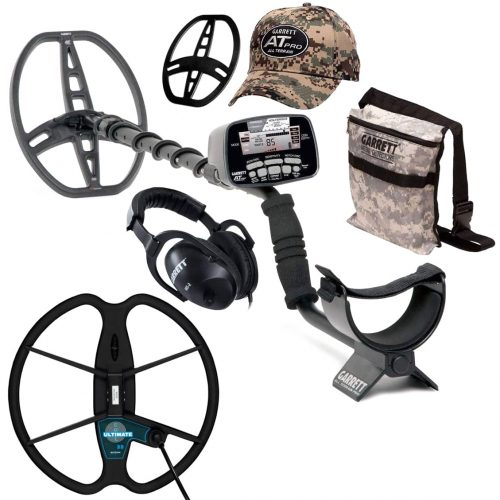 Metaldetector Garrett AT PRO with coil 33cm Ultimate