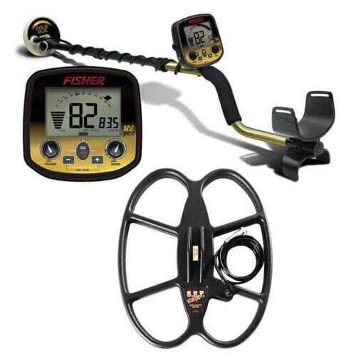 Metaldetector Fisher GoldBug PRO with coil 38х30cm SEF