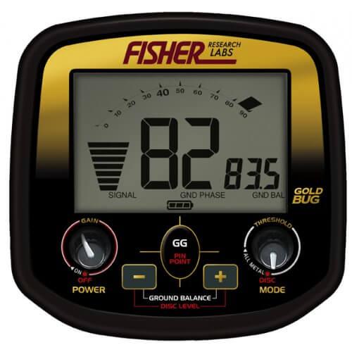 Металотърсач за злато Fisher GoldBug DP