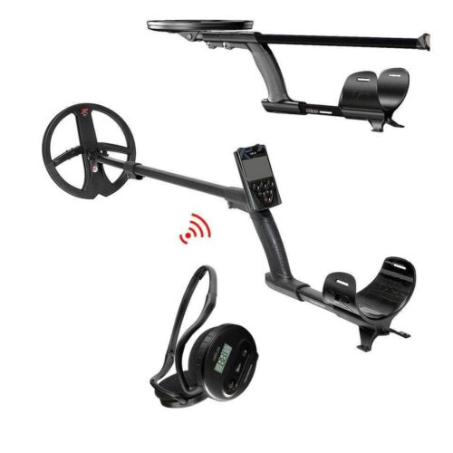 Metaldetector XP DEUS V5 X35 with 22.5cm + Wireless Headphones WS4