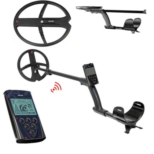 Metaldetector XP DEUS V5 X35 with 22.5cm + 34х28cm + Remote