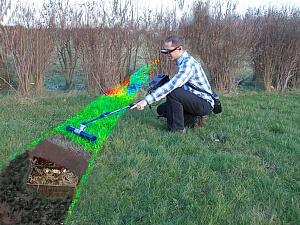 Професионален геоскенер за търсене на съкровища и аномалии