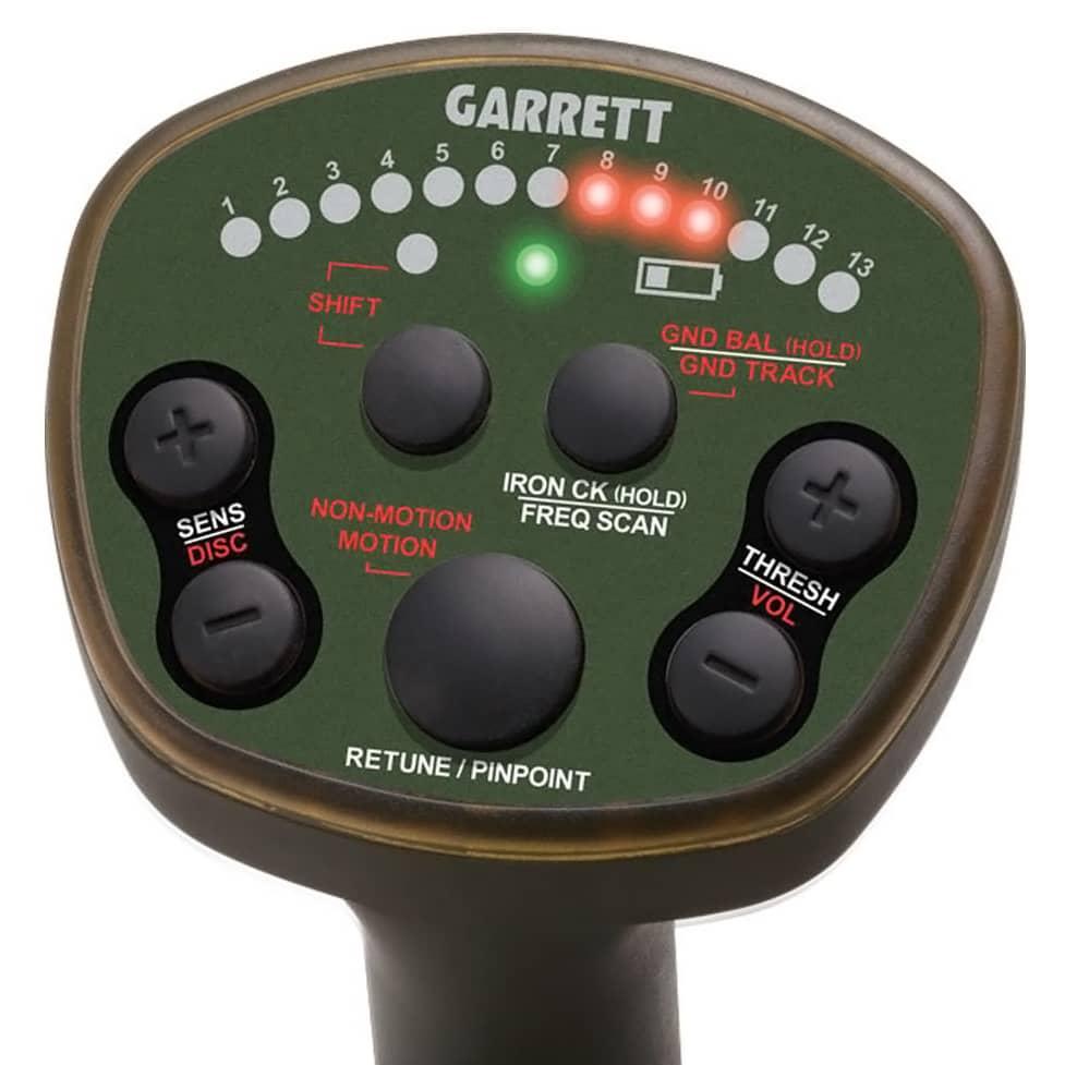 Пулс-индукционен металотърсач за злато, монети и съкровища Garrett ATX