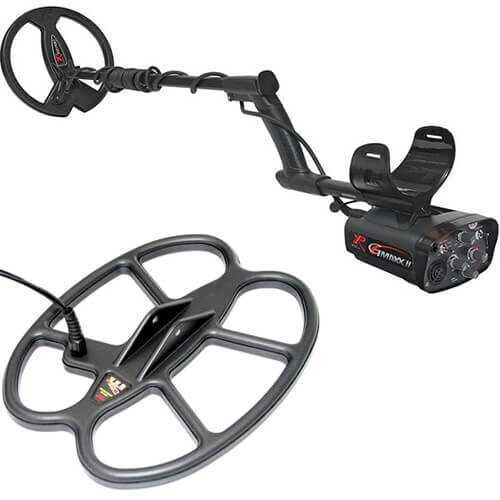 Metaldetector XP GMAXX II V4 with 22.5cm and 30х25cm SEF