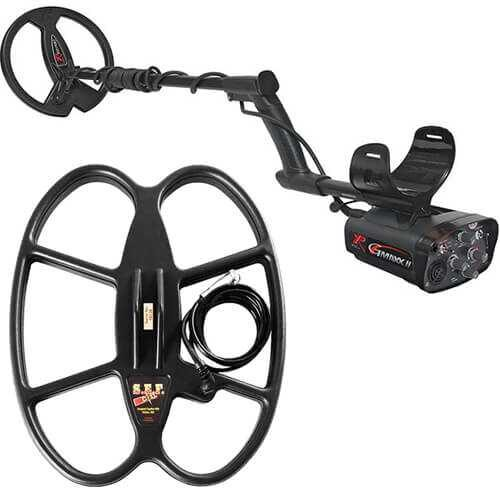 Metaldetector XP GMAXX II V4 with 22.5cm and 38х30cm SEF