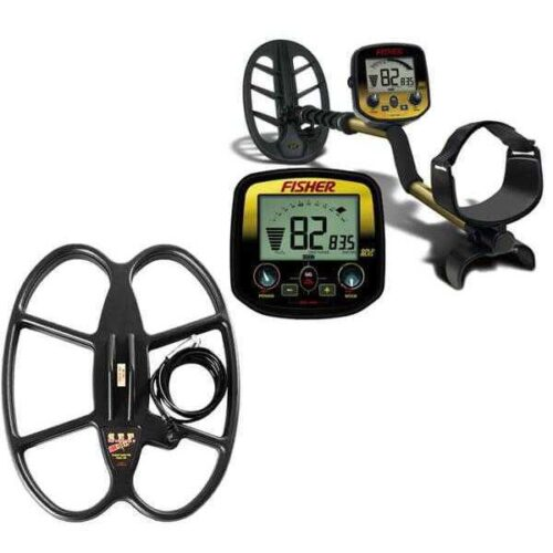 Metaldetector Fisher GoldBug DP with coil 38х30cm SEF
