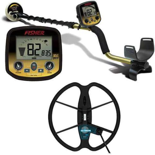 Metaldetector Fisher GoldBug PRO with coil 33cm Ultimate