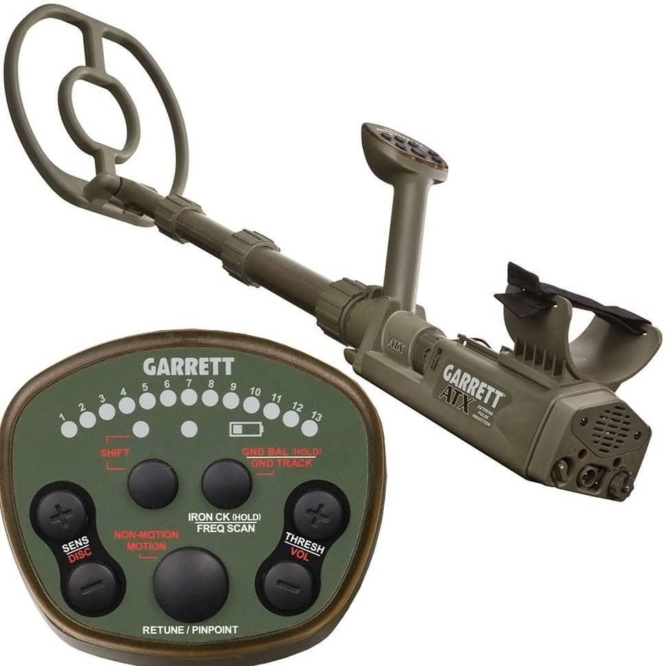 Металотърсач за злато и съкровища Garrett ATX Deepseeker Package