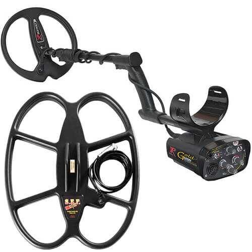 Metaldetector XP Gold MAXX Power V4 with coil 38х30cm SEF