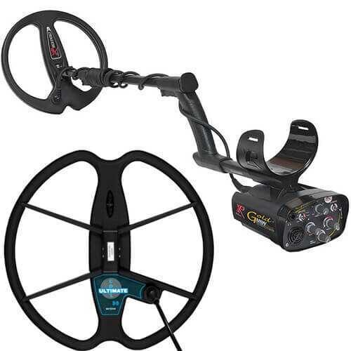 Metaldetector XP Gold MAXX Power V4 with 33cm Ultimate