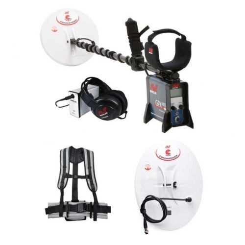 Metal detector Minelab GPX 5000 with 3 coils