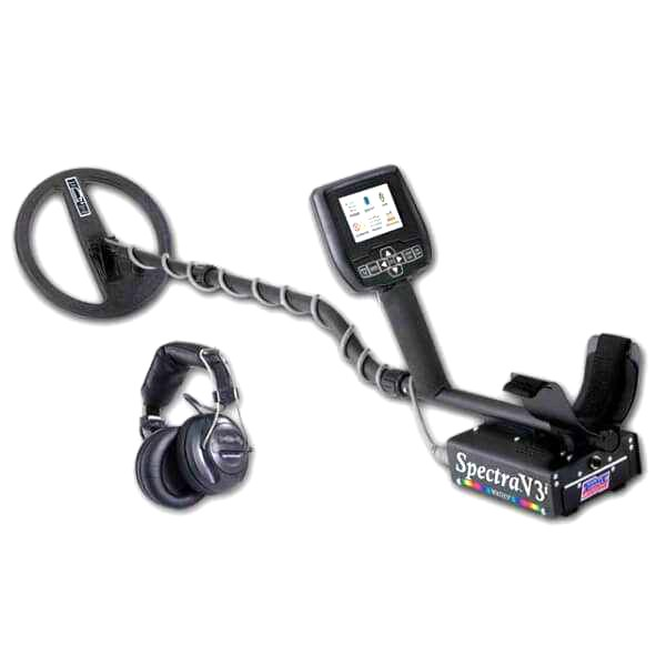 Mеталотърсач White's Spectra V3i с безжични слушалки
