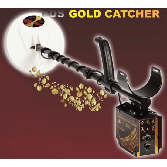 Уникален металдетектор Detech EDS GOLD Catcher 28kHz подходящ за всякакви терени