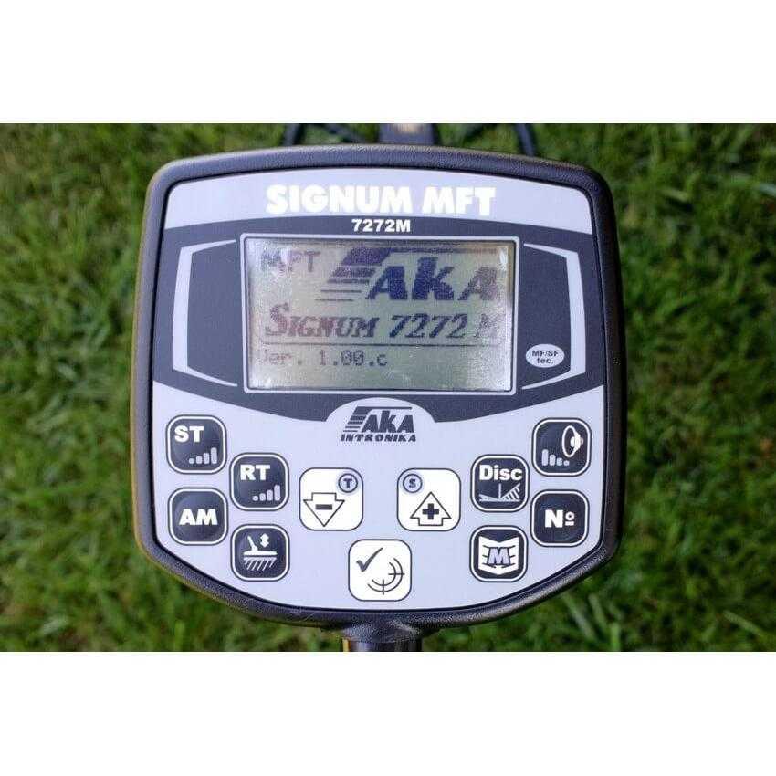 Професионален металотърсач AKA Signum 7272 MFT