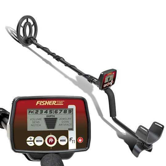 Металотърсач Fisher F11