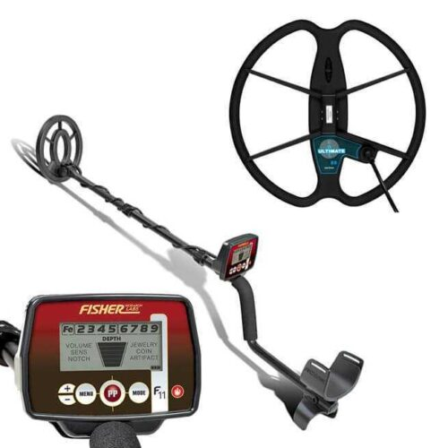 Metaldetector Fisher F11 with coil 33cm Ultimate
