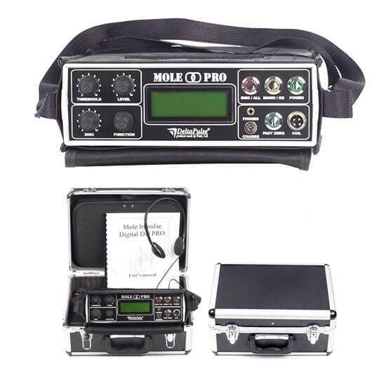 Мощен дълбочинен детектор с дискриминация тип пулс-индукция Impulse Digital DD Pro