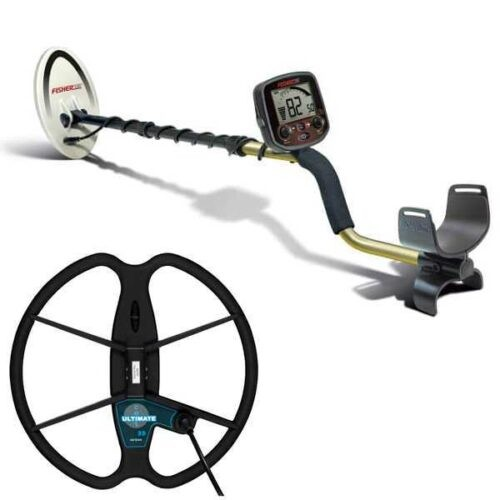 Metaldetector Fisher F19 Classic 19Khz with coil 33cm Ultimate