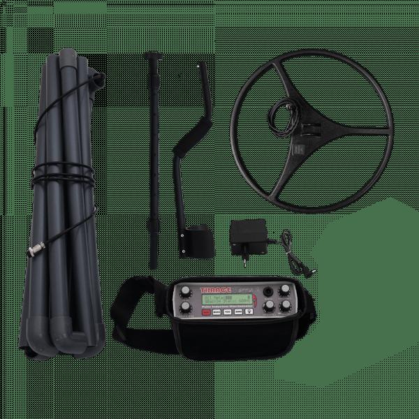 Дълбочинен пулс-индукционен металотърсач с дискриминация тип рамка ТРАК ТЕРА 2.2 с две сонди
