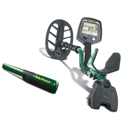 Metaldetector Teknetics T2+ with DST and pinpointer