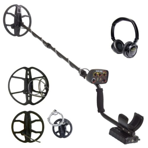 Metaldetector Golden Mask 4WD 8 -18 Khz Spiderpro PACK