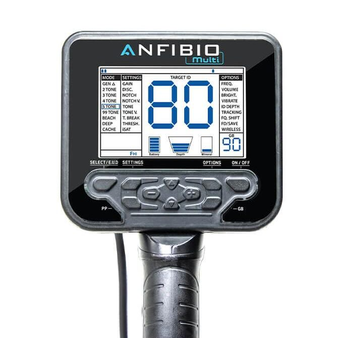 Металотърсач Nokta Anfibio Multi 5-14-20 kHz