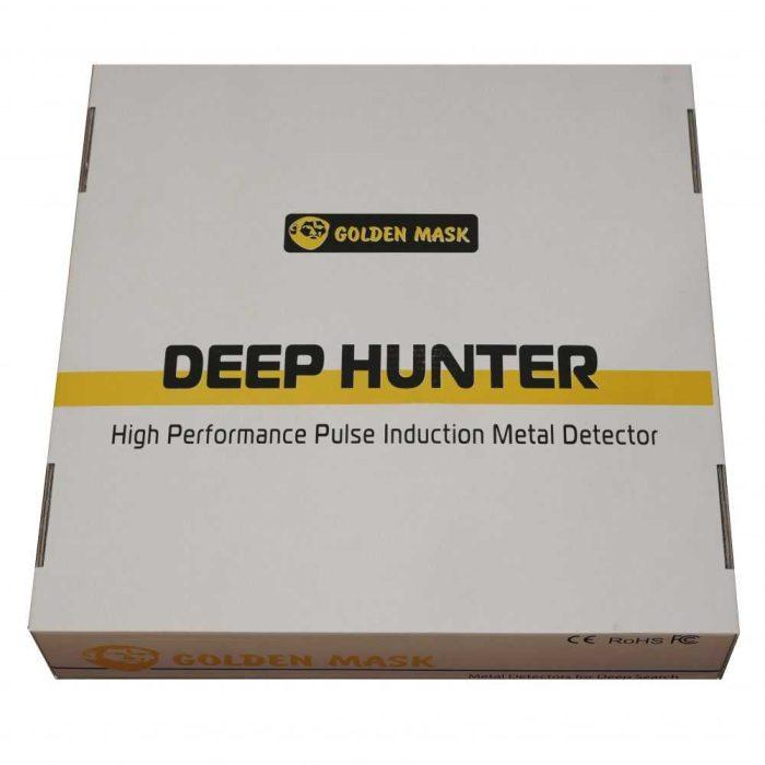 Металотърсач Golden Mask Deep Hunter Pro 3se с антена 58см и телескопичен стик + раница