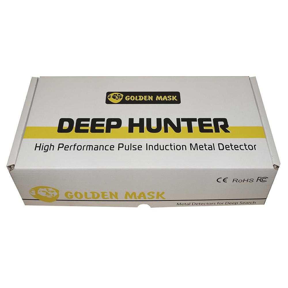 Мощен дълбочинен металотърсач Golden Mask Deep Hunter Pro 5