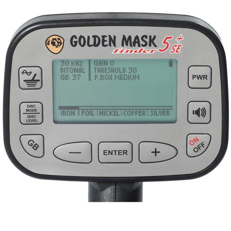 Металотърсач Golden Mask 5+ SE Platinum 15-30kHz LITE