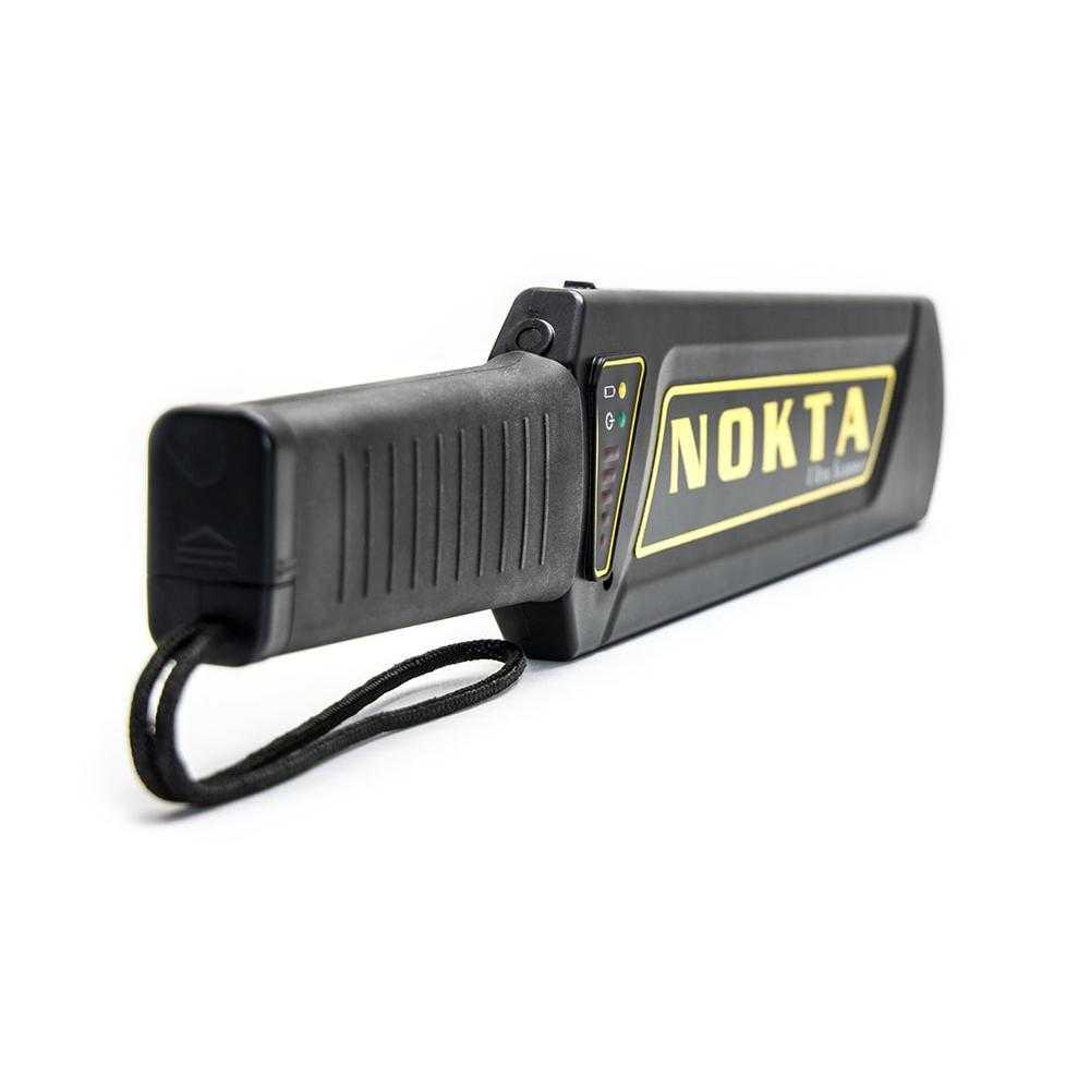Металдетекторна палка за охрана Nokta Ultra Scanner