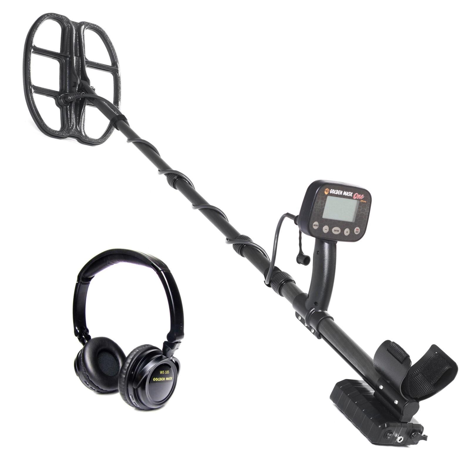 Металдетектор Golden Mask One 8kHz с безжични слушалки