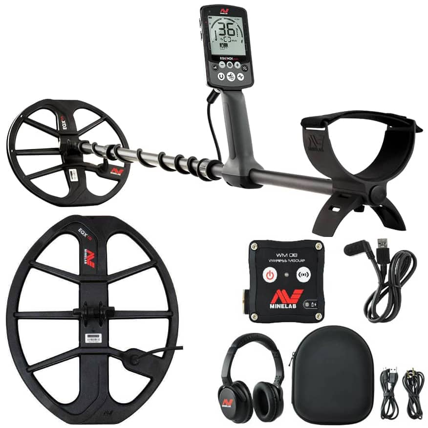 Metal detector Minelab EQUINOX 800 with coil EQX15 38x30cm