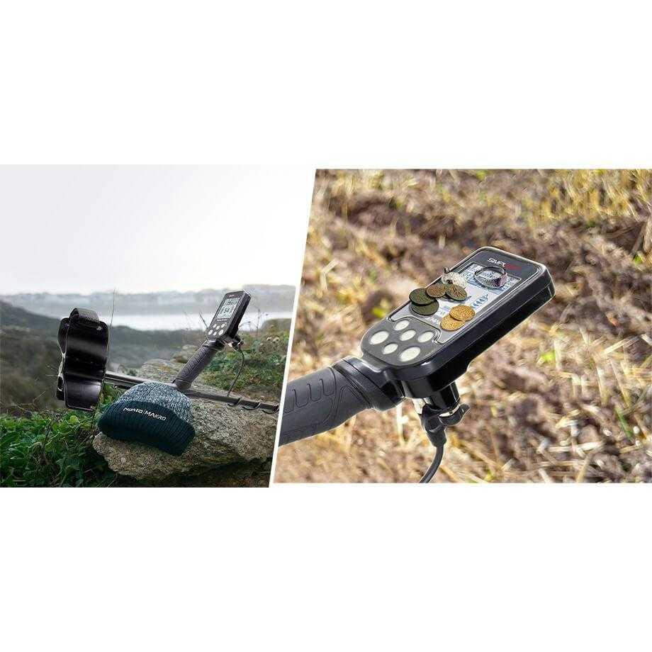 Металотърсач Nokta Makro Simplex+ с безжични слушалки