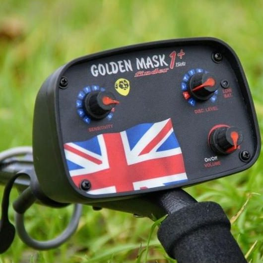 Металотърсач Golden Mask 1+ UK 15kHz