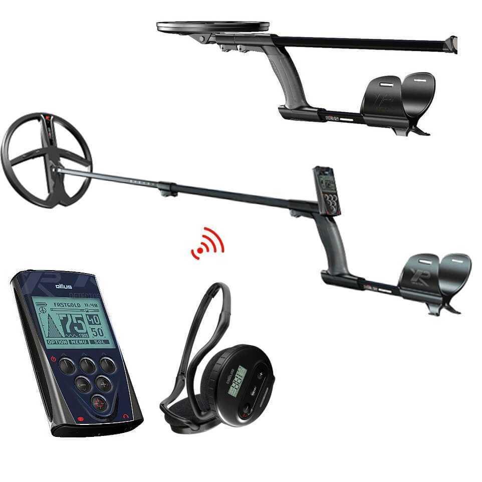 XP DEUS V5 X35 с 28см + дистанционно + слушалки WS4 + пинпойнтер MI-6
