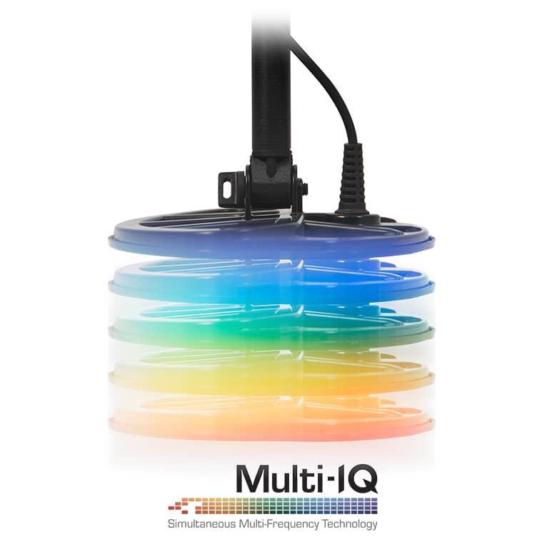 Металотърсач Minelab EQUINOX 800 с допълнителна бобина EQX6 15см