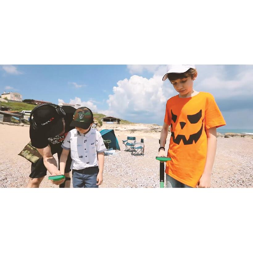 Детски водоустойчив металотърсач Nokta Makro Midi Hoard