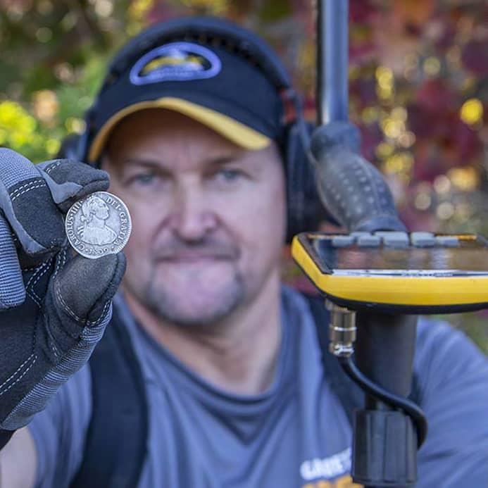 Metal detector Garrett APEX and coil 33cm Ultimate