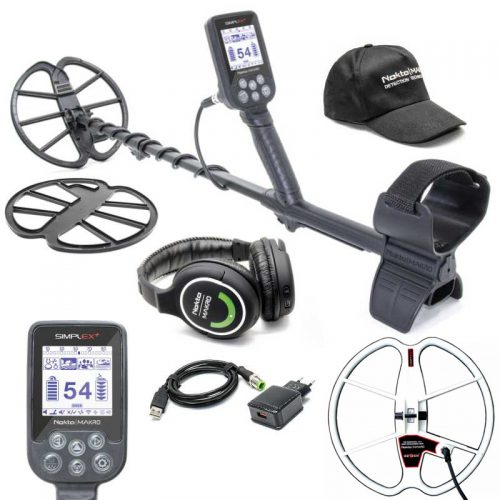 Metaldetector Nokta Makro Simplex+ WHP and 33cm Ultimate