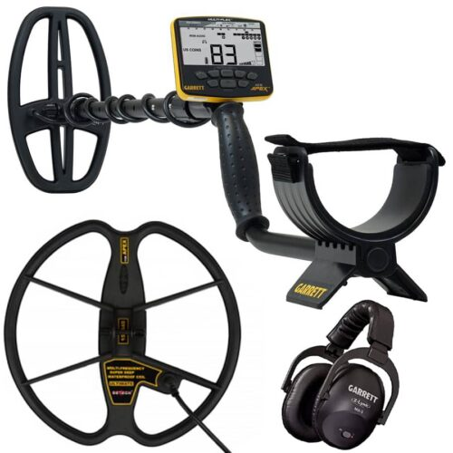 Metal detector Garrett APEX with wireless headphones and coil 33cm Ultimate