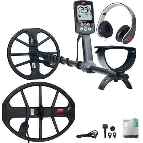 Metaldetector Minelab EQUINOX 600 with EQX15