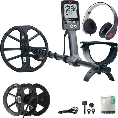 Metaldetector Minelab EQUINOX 600 with EQX6