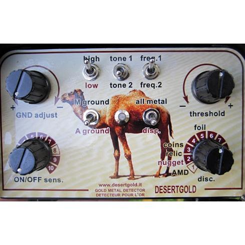 Металотърсач Detech DESERT GOLD 3
